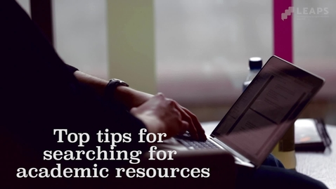 Thumbnail for entry Academic Resources: Tutors