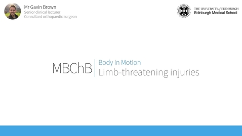 Thumbnail for entry Limb-threatening injuries