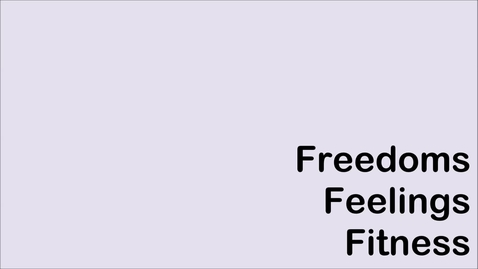 Thumbnail for entry Animal Welfare: Feelings, Fitness, Freedoms