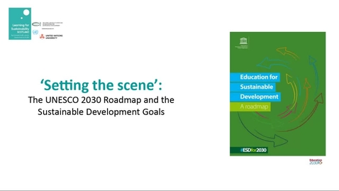 Thumbnail for entry RCE Global Webinar 04 Feb 2021 - Part Two - UNESCO ESD 2030 Roadmap - overview and panel discussion
