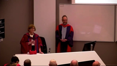 Thumbnail for entry Professor Chris Ponting Inaugural Lecture