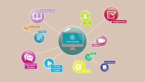 How does online learning work?