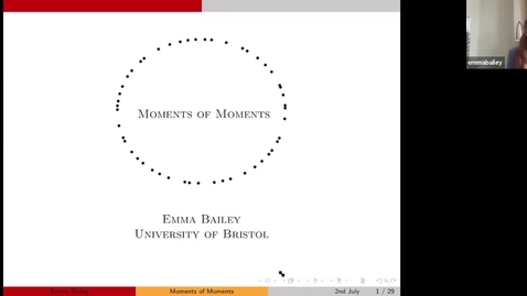 Thumbnail for entry Moments of Moments - Emma Bailey