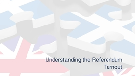 Thumbnail for entry Understanding the Referendum - Turnout
