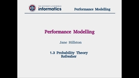 Thumbnail for entry 1.3 Probability Theory Refresher