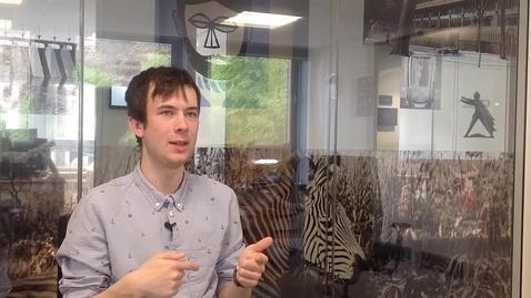 Thumbnail for entry Patrick Kinnear, Student Trainer, Digital Skills Team