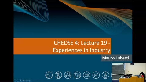 Thumbnail for entry Guest Lecture 1 - Experiences in Industry
