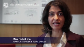 Thumbnail for entry Farhat Din - Aspirin, Metabolism and Bowel Cancer-Research In A Nutshell- MRC Institute of Genetic and Molecular Medicine-30/04/2014