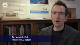 Thumbnail for entry Alistair Fair - Architectural History- Research In A Nutshell-Edinburgh College of Art-07/04/2014