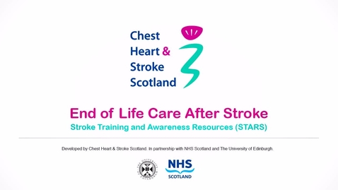 Thumbnail for entry End-of-life care after stroke (case study 2 - part 1)