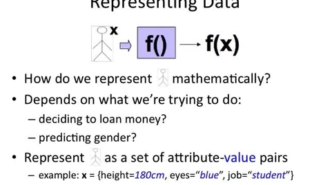 Thumbnail for entry Attribute-Value Representation