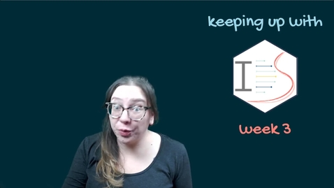 Thumbnail for entry IDS - Week 03 - 01 - Keeping up with IDS