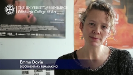 Thumbnail for entry Emma Davie: Documentary filmmaking