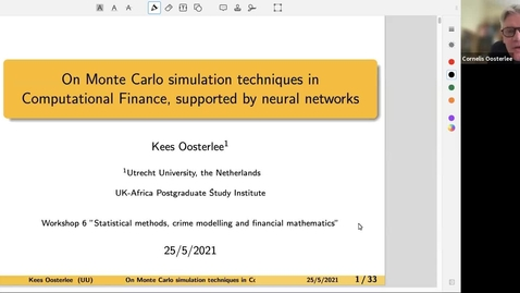 Thumbnail for entry UK-APASI in Mathematical Sciences - Kees Oosterlee