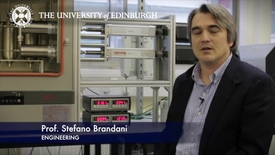 Thumbnail for entry Stefano Brandani: Carbon capture technologies
