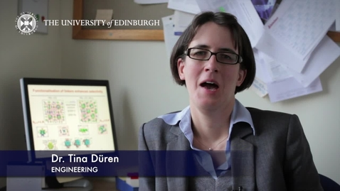 Thumbnail for entry Tina Duren- Engineering- Research In A Nutshell - School of Engineering -05/03/2013