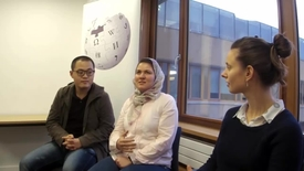 Thumbnail for entry Wikipedia in the Classroom - Interview with Edinburgh University's Translation Studies MSc students