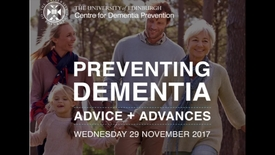 Thumbnail for entry Preventing Dementia conference: Welcome and introduction
