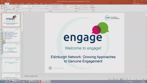 Thumbnail for entry 2017 October 17 engage network launch
