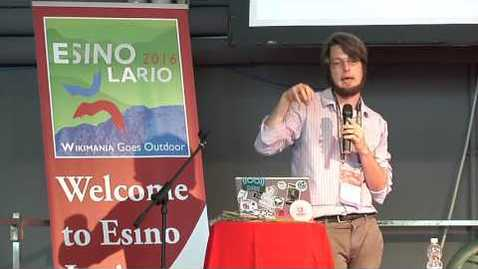 Thumbnail for entry Wikimania 2016 - Verifiability of Wikipedia by Alex Stinson
