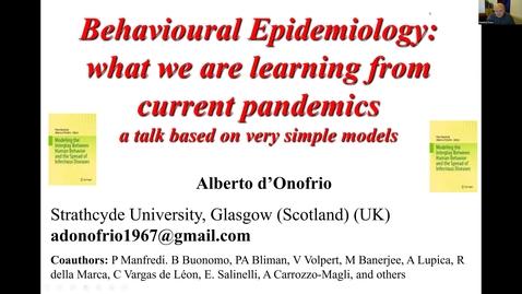 Thumbnail for entry UK-APASI in Mathematical Sciences: Alberto d'Onofrio