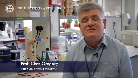 Thumbnail for entry Chris Gregory- Inflammation Research- Research In A Nutshell - Queen's Medical Research Institute -21/05/2015