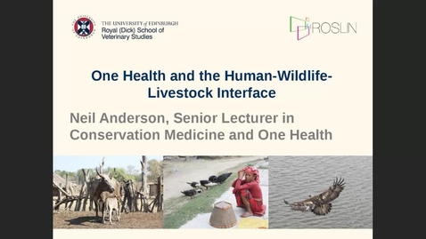 Thumbnail for entry One Health and the Human-Wildlife-Livestock Interface