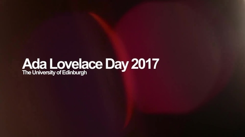Thumbnail for entry Ada Lovelace Day 2017