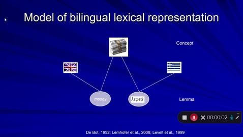 Thumbnail for entry Language Production Lecture 7 Part 22