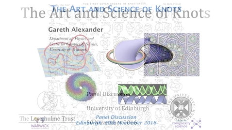 Thumbnail for entry The Art and Science of Knots: 2. Gareth Alexander