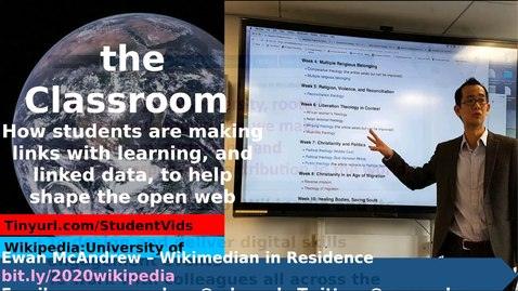 Thumbnail for entry How to edit Wikipedia and improve representation online