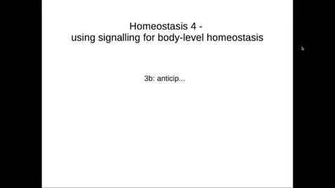 Thumbnail for entry MBChB1 Homeostasis Lec4c (Captioned)