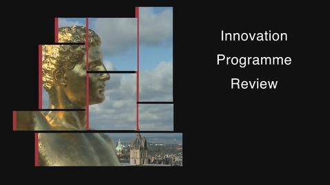 Thumbnail for entry ISG Innovation Programme Review