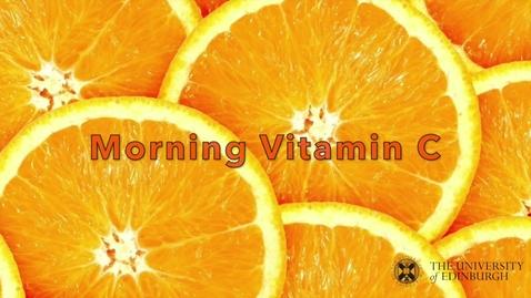 Thumbnail for entry G7 Red -- Morning Vitamin C
