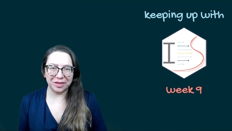 Thumbnail for entry IDS - Week 09 - 01 - Keeping up with IDS