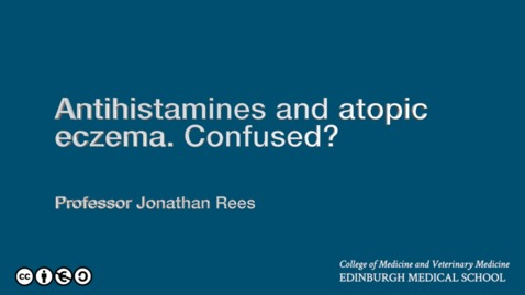Thumbnail for entry Antihistamines and eczema: confusion reigns