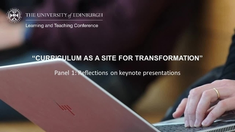 Thumbnail for entry LTC 2021 - Panel 1: Keynote Reflections with BSL interpretation