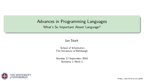 Thumbnail for entry What's So Important About Language?