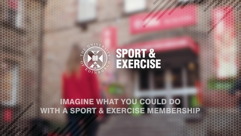 Thumbnail for entry Sport & Exercise facilities overview