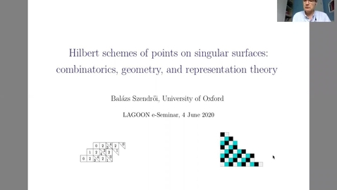 Thumbnail for entry LAGOON: Leicester Algebra and Geometry Open ONline - Balazs Szendroi