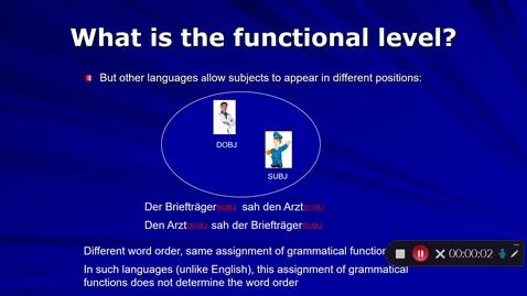 Thumbnail for entry Language Production Lecture 5 Part 14