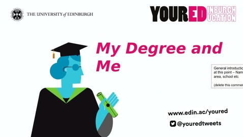 Thumbnail for entry My Degree & & Me & Collaborate tutorial