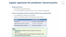 Thumbnail for entry 17. Logistic Regression – General Points