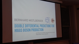 Thumbnail for entry Subtracting Infrared Singularities Beyond NLO workshop -   Double differential predictions for Higgs boson production: Bernhard Mistlberger