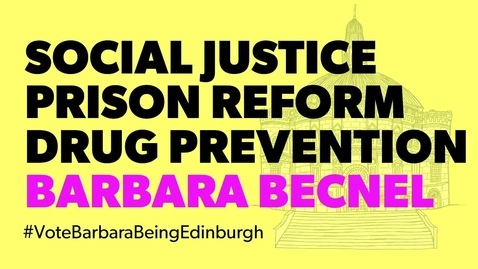 Thumbnail for entry Being Edinburgh: Vote for Barbara Becnel