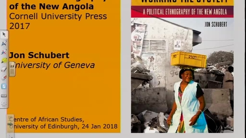 Thumbnail for entry Working the System: A Political Ethnography of the New Angola - Jon Schubert
