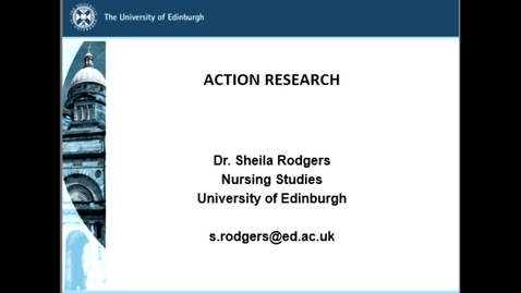 Thumbnail for entry srodgers Action Research