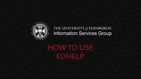 Thumbnail for entry (UG and PG) How-to use EdHelp