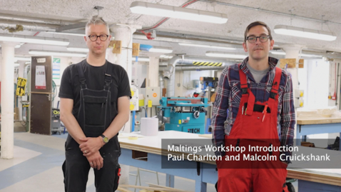 Thumbnail for entry Maltings Workshop Introduction
