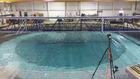 Thumbnail for entry Quoceant Ectacti Hull Tank Testing Time Lapse, FloWave July 2016